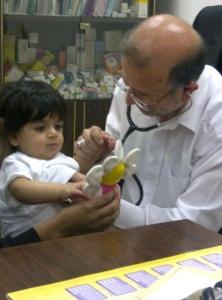 د. نادر في العيادة